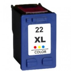 CARTUCHO RECICLADO HP COLOR C9352AE (Nº 22XL)