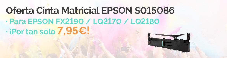 Oferta Cinta Matricil EPSON FX2190/LQ2170/LQ2180