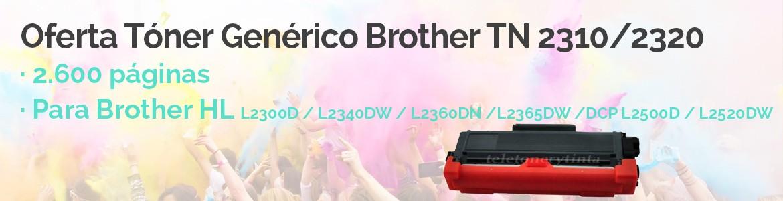 Oferta Tóner Genérico Brother TN 2310/TN 2320